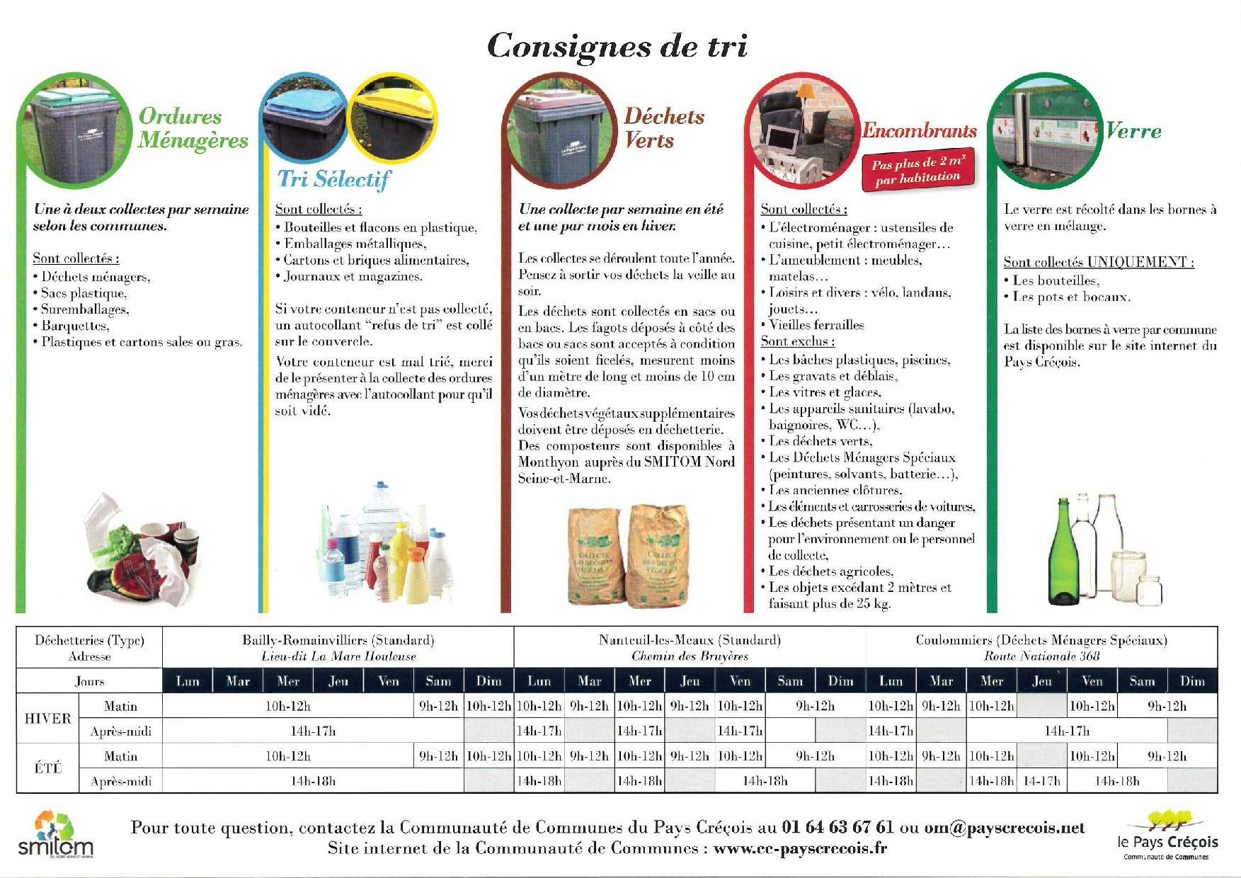 Calendrier Encombrants 77.Site Officiel Ville De Saint Germain Sur Morin